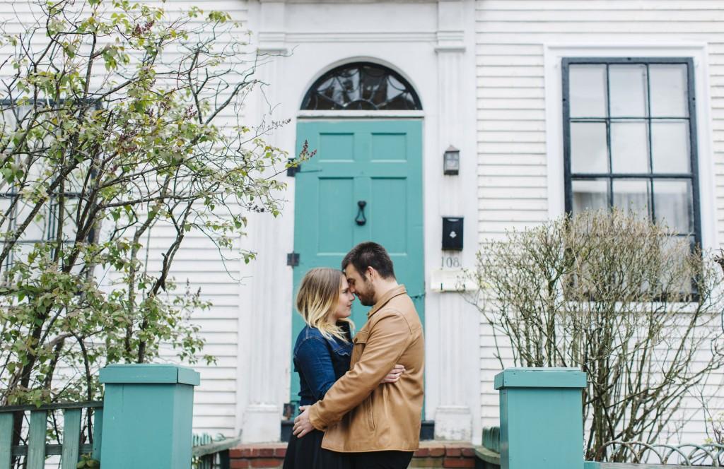 Maine Wedding Photographers, engagement shoot in West end, portland maine, greta tucker photography