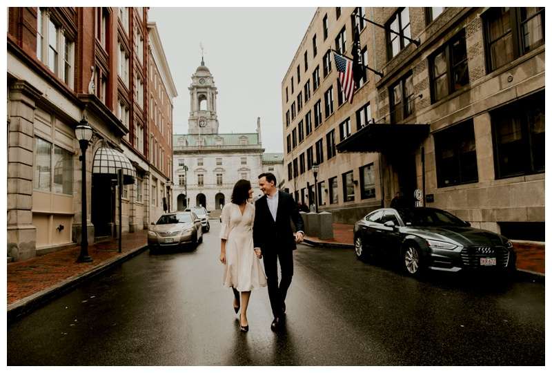 Hidden Pond Wedding, portland maine elopement